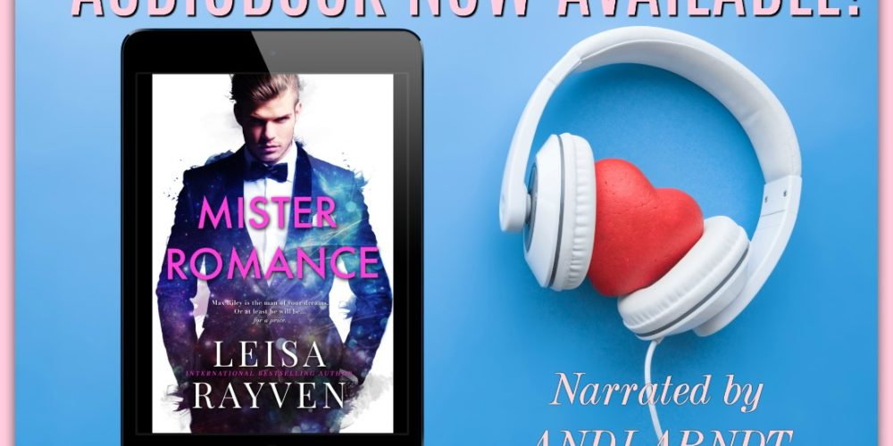 Mister Romance is Now on Audio!